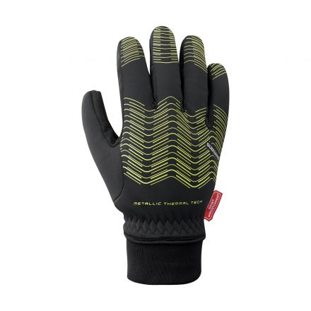 Shimano Windstopper Thermal Reflective Gloves | YELLOW