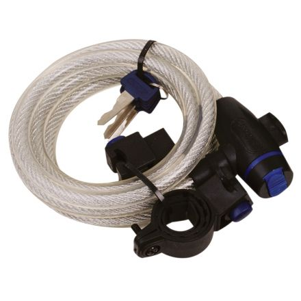 OXC Cable Lock 12mm x 1800mm | Silver