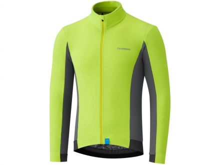 Shimano Thermal Winter Jersey | YELLOW