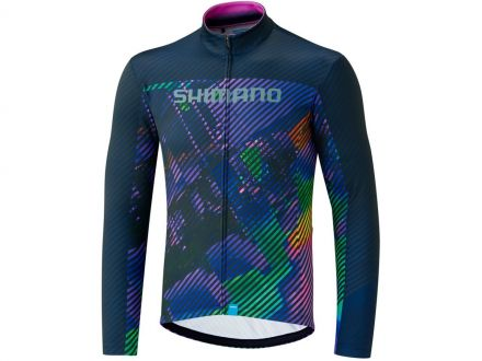 Shimano Team LS Jersey | PURPLE