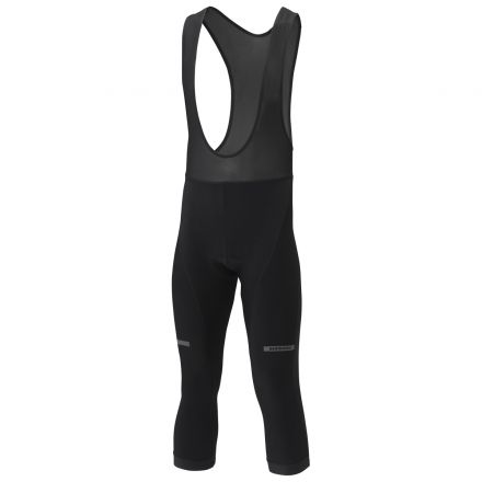 Shimano 3/4 Winter Bib Tights | BLACK