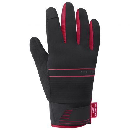 Shimano Windstopper Insulated Glove | RED