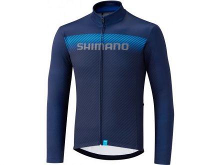 Shimano Team LS Jersey | NAVY