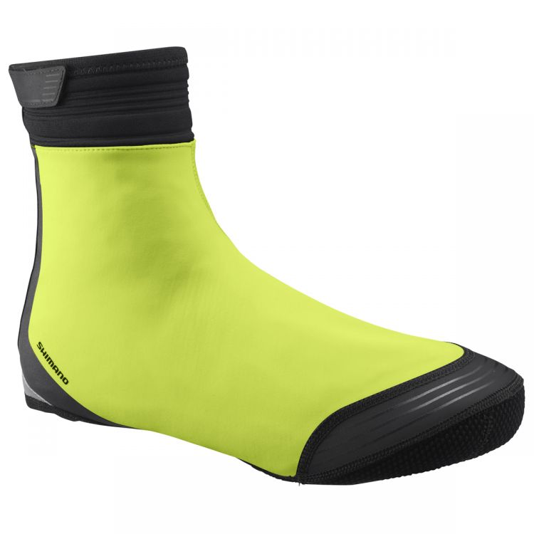 Shimano S1100r Soft Shell Shoe Cover Yellow Ecwfabwrs11uf Cycleshop Pl