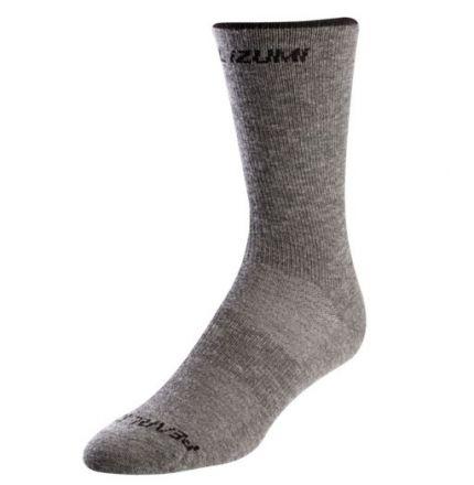 Pearl Izumi Merino Wool Tall Sock | SMOKED PEARL
