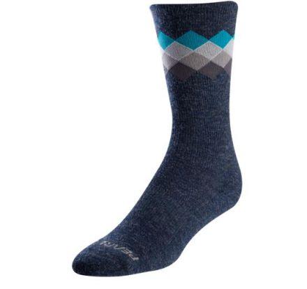 Pearl Izumi Merino Thermal Wool Sock | NAVY/BLUE