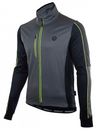 Rogelli Winter Jacket Spark | GREY/BLACK