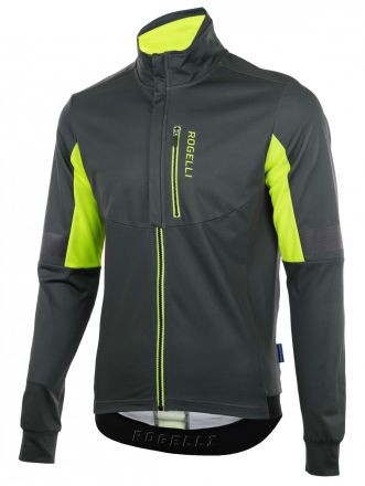 Rogelli Winter Jacket Transition | GREY/FLUOR