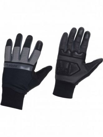 Rogelli Winter Gloves Reflect | CZARNE