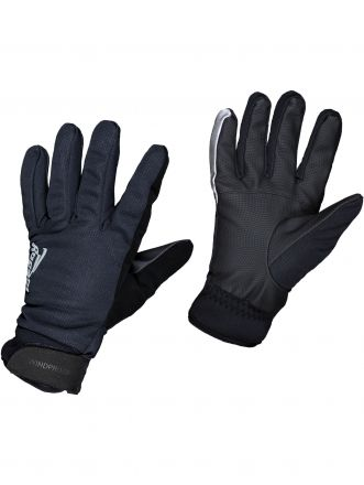 Rogelli Winter Gloves Windproof Deltana | CZARNE