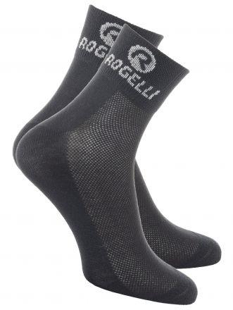 Rogelli Cycling Socks Promo | BLACK