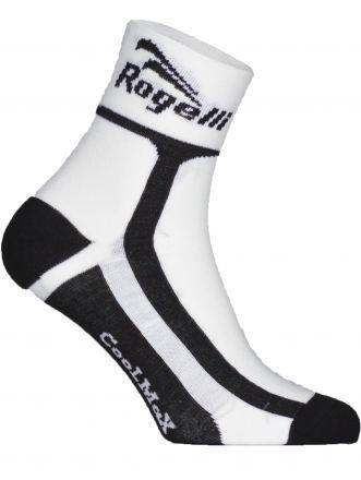 Rogelli Cycling Socks  Coolmax | WHITE/BLACK