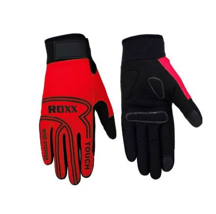 ROXX Windstopper Cycling Glove | CZERWONE