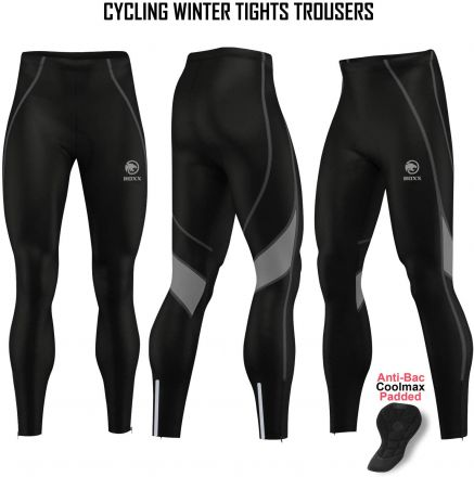 ROXX Winter Thermal Tights | CZARNO-SZARE