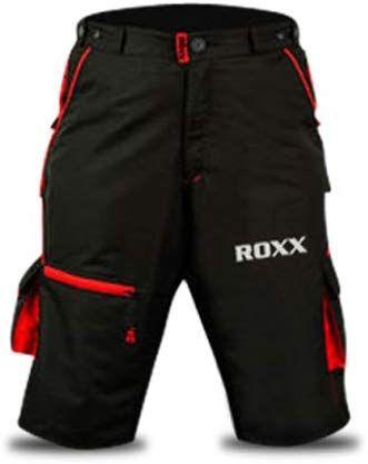 ROXX MTB Shorts | CZARNO-CZERWONE