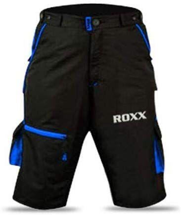 ROXX MTB Shorts | CZARNO-NIEBIESKIE
