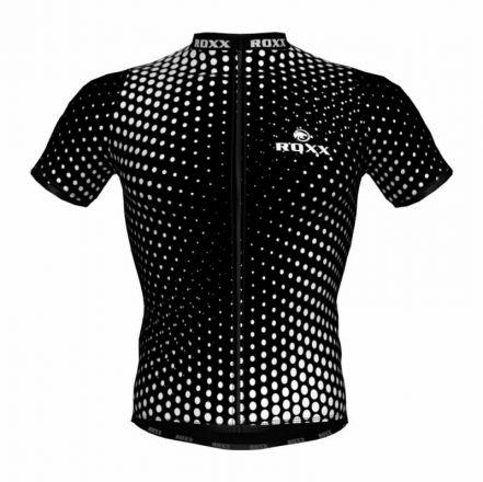 ROXX Cycling Jersey | CZARNO-BIAŁA