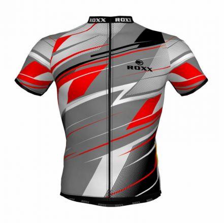 ROXX Cycling Jersey | BIAŁO-CZERWONA