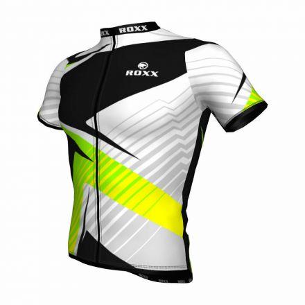 ROXX Cycling Jersey | BIAŁO-ŹÓŁTA