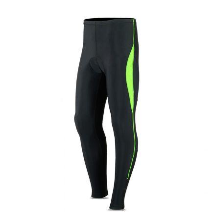 ROXX Long Trousers Coolmax Padded | CZARNO-ŻÓŁTE