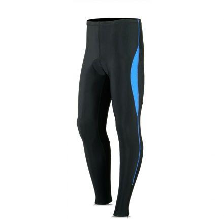 ROXX Long Trousers Coolmax Padded | CZARNO-NIEBIESKIE