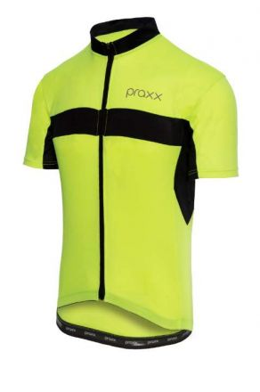 Praxx Thermoactive Cycling Jersey | YELLOW-BLACK