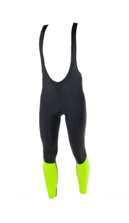 Deko Thermal Cycling Bibtights  | BLACK-FLUOR