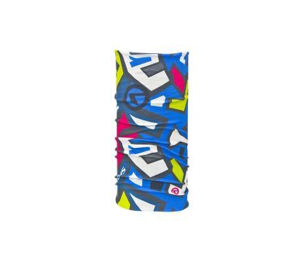Kellys Multifunctional Scarf Tetris | Blue