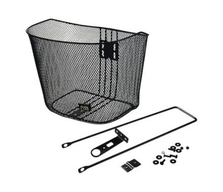 Kellys City Front Bicycle Basket | CZARNY