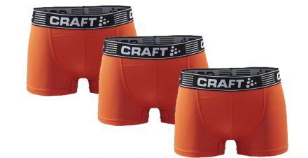 Craft Greatness Boxer 3-INCH | ORANGE 3szt