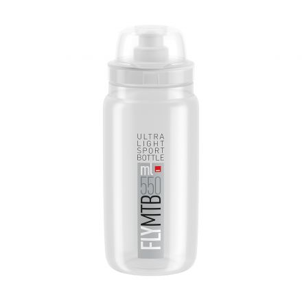 Elite Fly MTB 550ml | Clear Grey