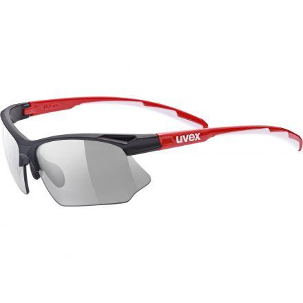 Uvex Sportstyle 802 Vario | BLACK RED