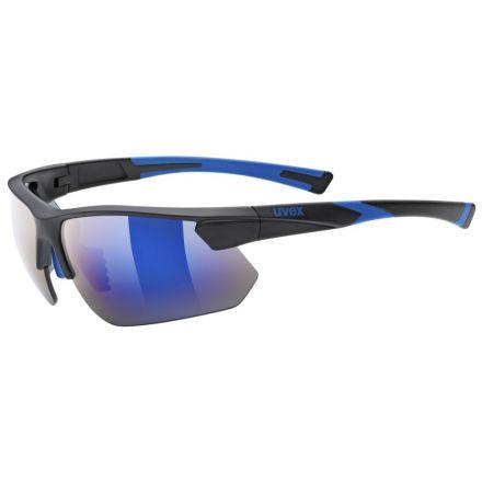 Uvex Sportstyle 221 | BLACK BLUE MAT