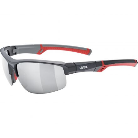 Uvex Sportstyle 226   GREY RED MAT
