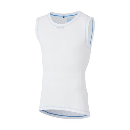 Shimano Sleeveless Mesh | WHITE
