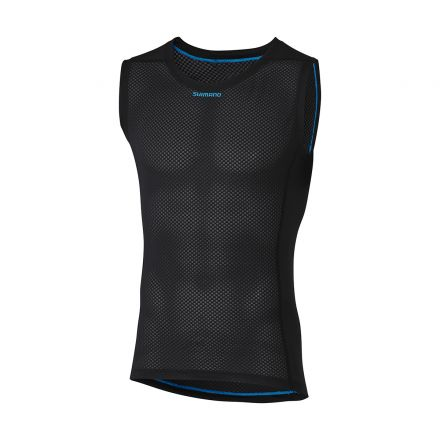 Shimano Sleeveless Mesh | BLACK