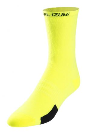 Pearl Izumi Elite Tall Sock | YELLOW