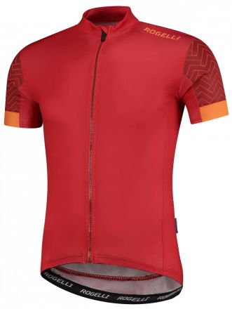 Rogelli Bolt SS Jersey | RED/ORANGE