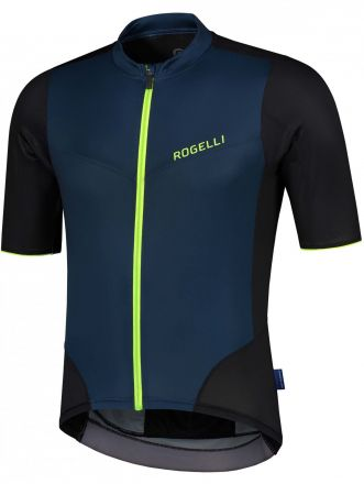 Rogelli Charge SS Jersey | BLUE/FLUOR