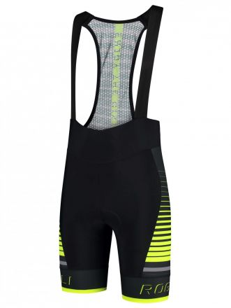 Rogelli Hero Bibshort | BLACK/GREY/FLUOR