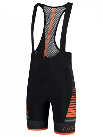 Rogelli Hero Bibshort | BLACK/GREY/ORANGE