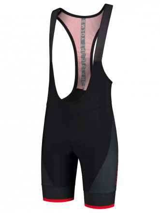 Rogelli Fuse Bibshort | BLACK/RED