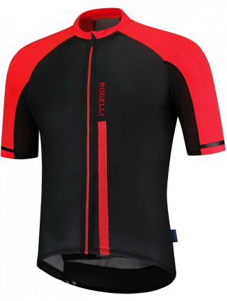 Rogelli Evo SS Jersey | BLACK/RED