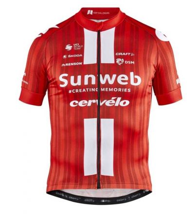 Craft Team Sunweb Replica SS Jersey 2020 | CZERWONA
