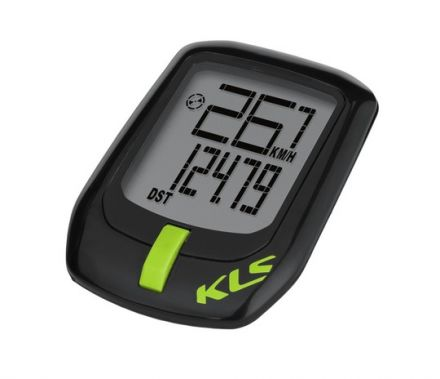 Kellys Direct Cyclecomputer | BLACK/GREEN