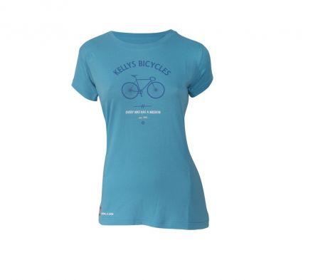 Kellys Women Bike Mission Tee | Blue