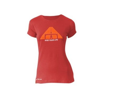 Kellys Women Ride Your Life  Tee | RED