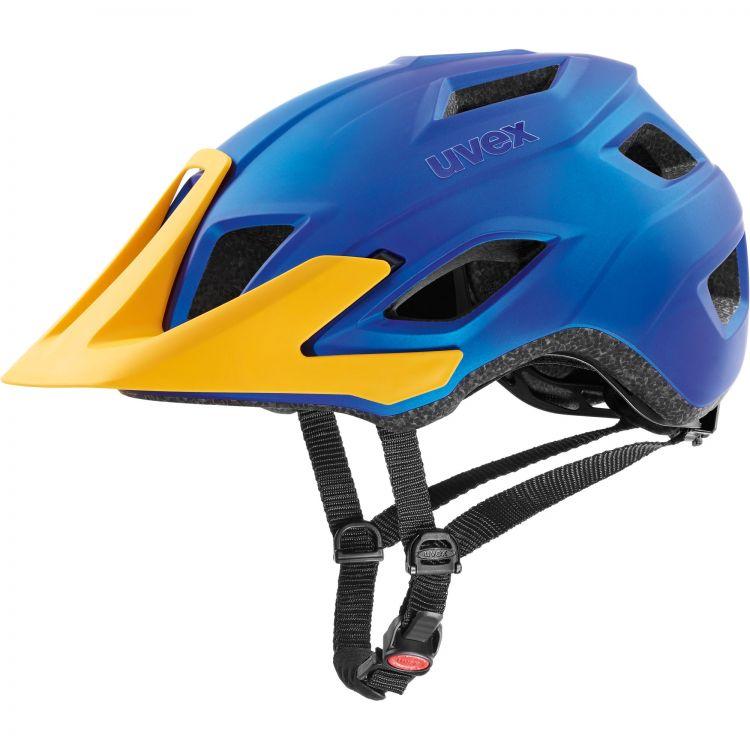 Uvex Access | Blue Energy Mat - Uniwersalny kask rowerowy