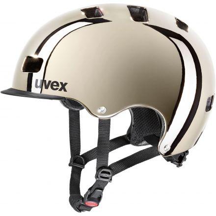 Uvex HLMT 5 Bike PRO | CHROME