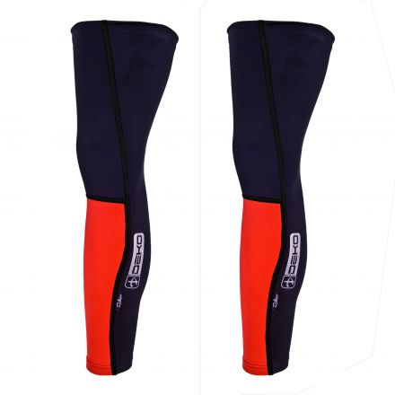 Deko Dual Winter Leg Warmers | BLACK-RED